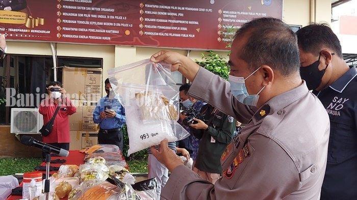 Breaking News: Sabu 135 Kg di Kalsel, Polresta Banjarmasin Bongkar Jaringan Internasional