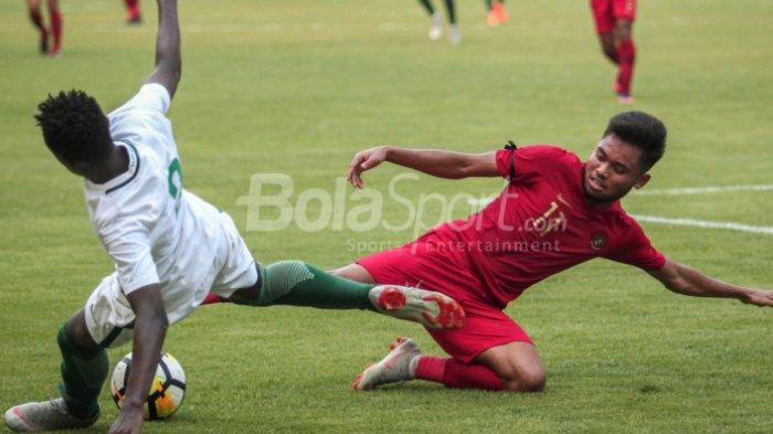 Hasil Akhir Timnas U-19 Indonesia vs Arab Saudi, Gol Sia-sia Saddil Ramdhani, Skor 1-2