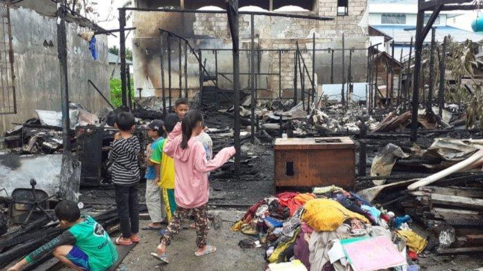 Geger Kebakaran Tiga Rumah di Alalak Tengah Banjarmasin Kalsel