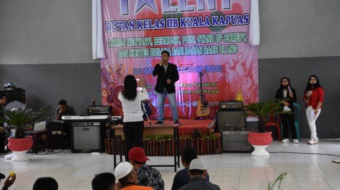 Asah Bakat, Rutan Kelas IIB Kapuas Kalteng Gelar Prisoners Got Talent