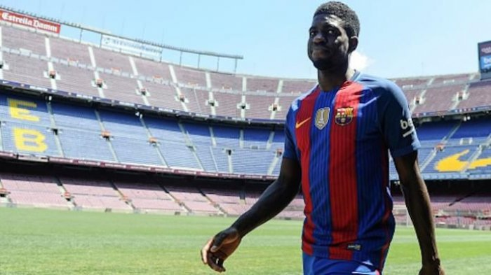 Agar Tak Diambil, Barcelona Perpanjang Kontrak Samuel Umtiti