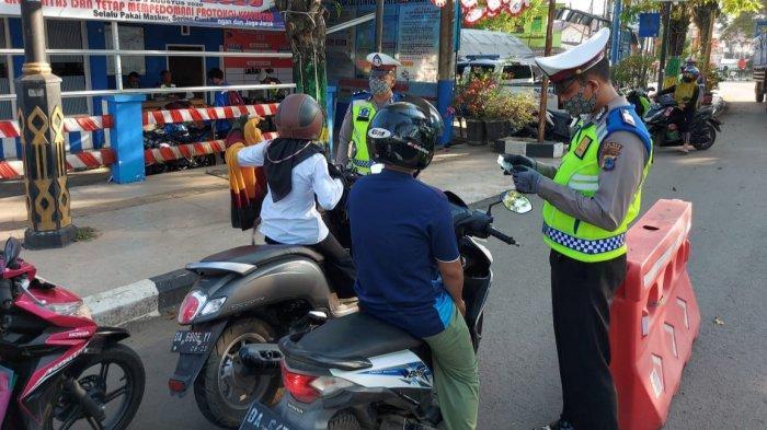 Tak Bisa Tunjukan Dokumen, 12 Pengendara Sepeda Motor Terjaring Razia di Paringin Balangan Kalsel