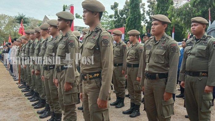 40 Personel Satpol PP Provinsi Kalteng Dilatih di SPN Tjilik Riwut, Demi Ubah Pola Pikir