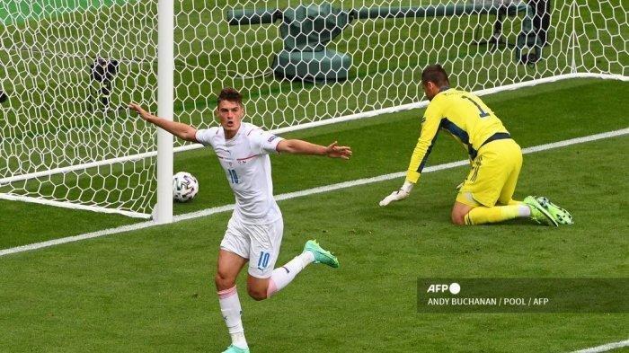 Hasil EURO, Skor Skotlandia vs Ceko 0-2, Patrik Schick Cetak Gol Spektakuler dari Jarak 45,72 Meter