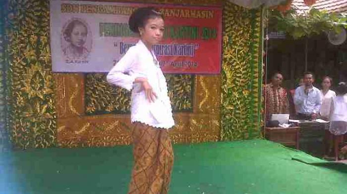 SDN Pengambangan 5 Peringati Hari Kartini