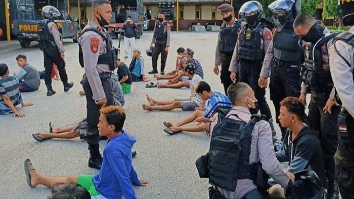 Balapan Liar di Jalanan Umum Kota Palangkaraya, Pengendara Takut Melintas