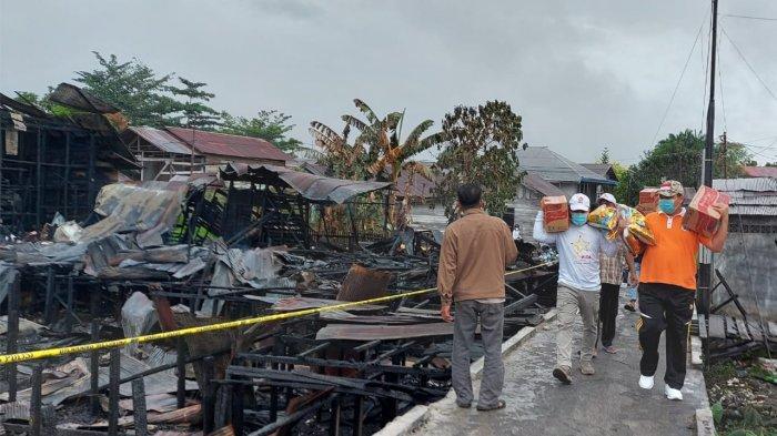Pemko Palangkaraya Akan Berikan Bantuan 26 KK Korban Kebakaran Jalan Suka Damai