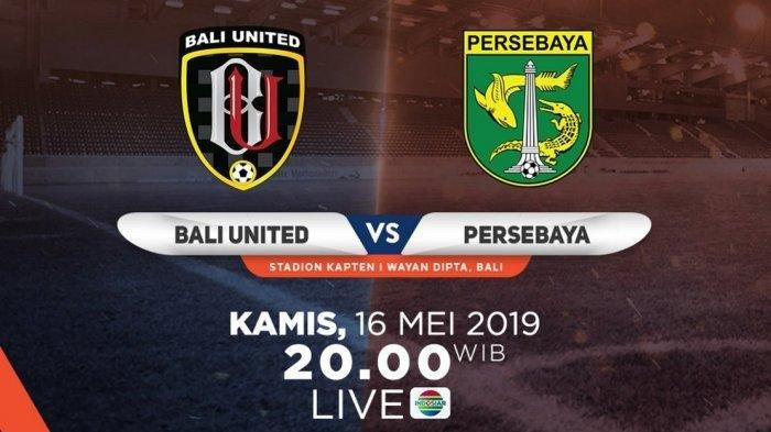 SEDANG BERLANGSUNG! Live Indosiar Bali United vs Persebaya Shopee Liga 1 Live Streaming Vidio.com
