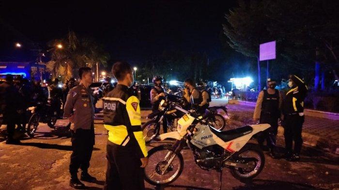 Polda Kalteng Turunkan Seratus Lebih Personel Tim Gabungan Tangani Aksi Balapan Liar di Palangkaraya