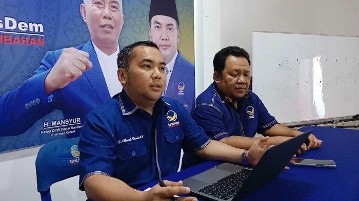 Nasdem Kalsel Umumkan Saidi Mansyur Unggul Pilkada Banjar