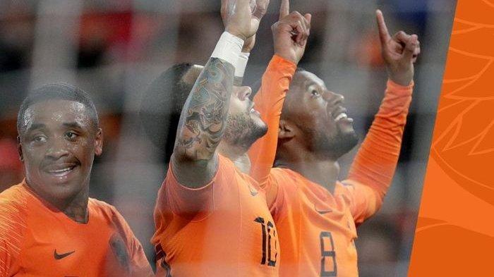 Belanda Menang Telak 4 Gol Tanpa Dibalas Belarus di Kualifikasi Piala Eropa 2020