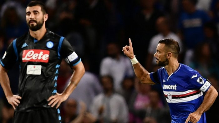 Pekan ke-3 Liga Italia 2018-2019, Tuan Rumah Sampdoria Tekuk Napoli dengan 3 Gol Tanpa Balas