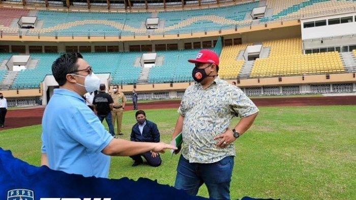 Tunggu Kepastian Liga 2 Indonesia, Semen Padang FC dan PSPS Riau Lakukan Latihan Bersama