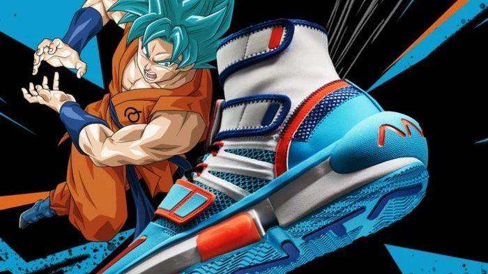 Hasil Kolaborasi Manga Populer, Ini Sepatu Basket Anta x Dragon Ball Edisi 2020 Sudah Dirilis