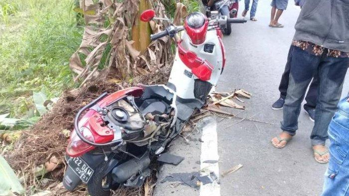 Tertabrak Truk, Pengendara Honda Scoopy Ini Tewas