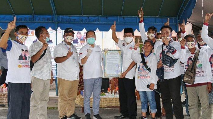 H-7 Pencoblosan, Serikat Buruh FH-KSBSI Kalteng Deklarasikan Dukungan untuk Ben-Ujang