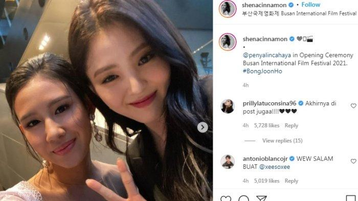 Shenina Cinnamon Mengunggah Foto Bersama Han So Hee Jadi Perhatian, Fakta ini Terungkap