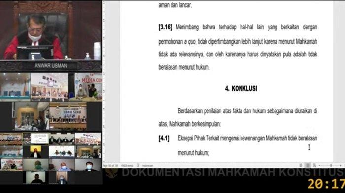 MK Putuskan Pilkada Banjarmasin 2020 Dilakukan Pemungutan Suara Ulang di Tiga Kelurahan
