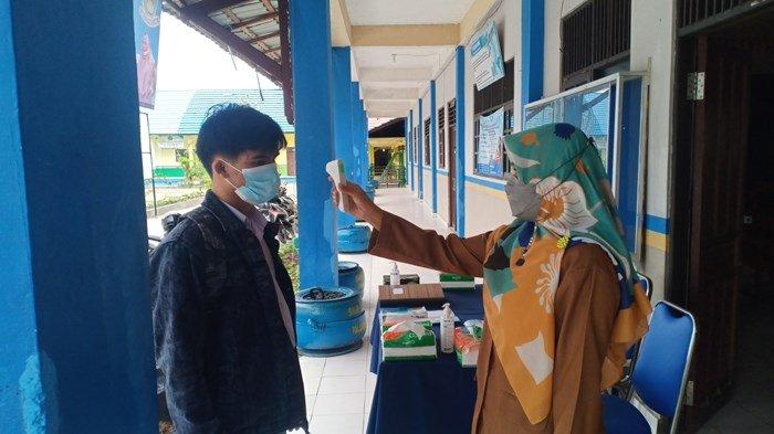 Tak Bawa Surat Persetujuan Orang Tua, Lima Siswa SMK Al-Ishlah Palangkaraya Sempat Tak Ikut PTM