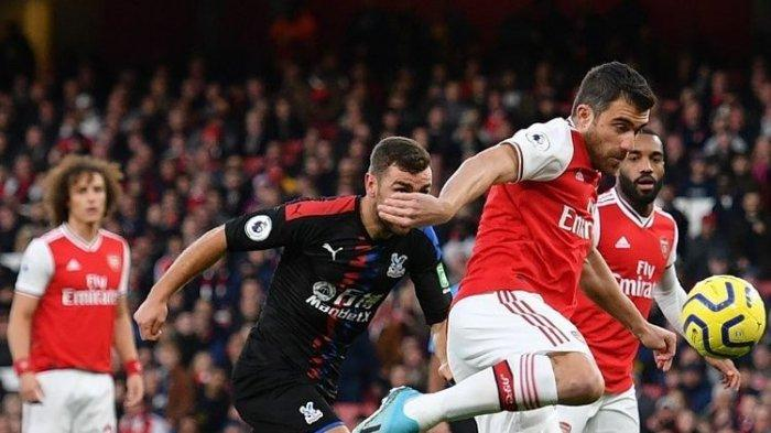 Arsenal Hanya Mampu Bermain Imbang 2-2 Kontra Crystal Palace di Pekan ke-10 Liga Inggris