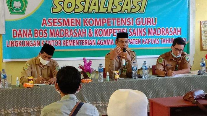 Madrasah di Kapuas Bersiap Hadapi AKG dan KSM Secara Online