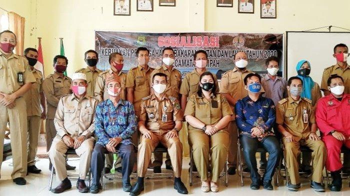 Jajaran DLH Kabupaten Kapuas Sosialisasikan Cegah Karhutla di Timpah