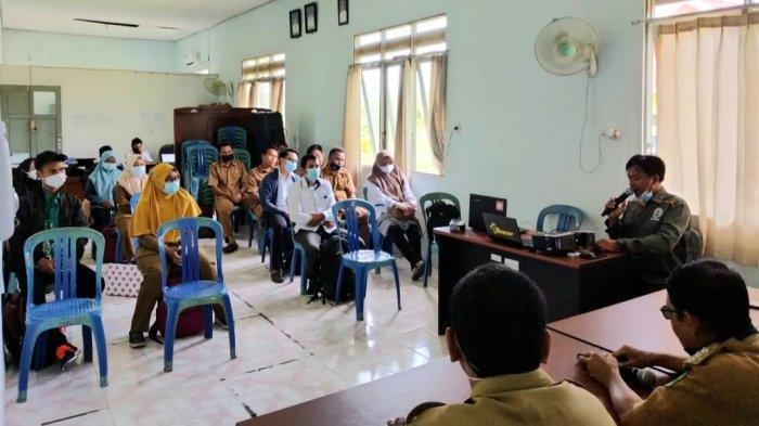 Kecamatan Bataguh Kabupaten Kapuas Gelar Sosialisasi Input Data IDM Serta SDGs