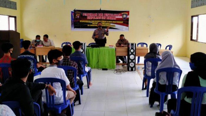 Satbinmas Polres Kapuas Sosialisasi di SMKN 3, Ini Yang Disampaikan