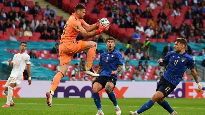 Final EURO 2020, Italia Menunggu Pemenang Inggris vs Denmark Usai Kalahkan Spanyol, Skor Akhir 5-3