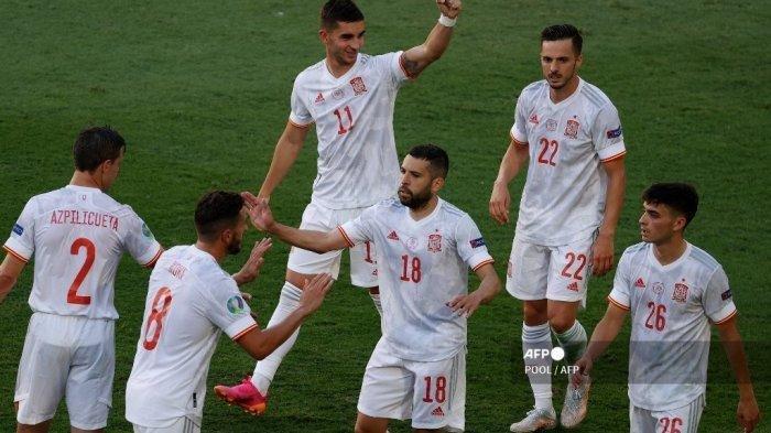 Semifinal! Hasil EURO 2020 Swiss vs Spanyol 1-3, Drama Adu Penalti Loloskan Tim Matador