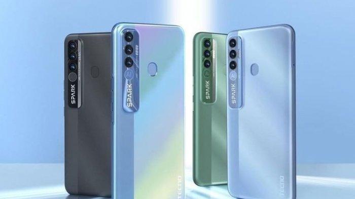 HP China Tecno Spark 7 Pro Masuk Indonesia Sasar Generasi Z, Ini Spesifikasi dan Harganya