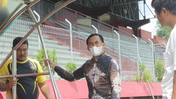 Pembenahan Stadion Tuah Pahoe, Markas Kalteng Putra Jelang Kick Off Liga 2 Selesai 1 Oktober 2021