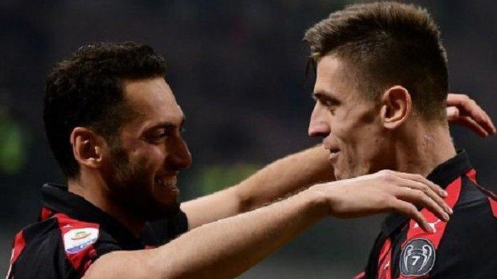 Liga Italia, AC Milan Masih di Zona Aman Liga Champions Usai Benamkan Empoli 3 Gol Tanpa Balas