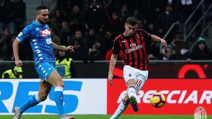 Coppa Italia - AC Milan ke Semifinal Usai Kalahkan Napoli dengan 2 Gol Tanpa Balas dari Debut Piatek