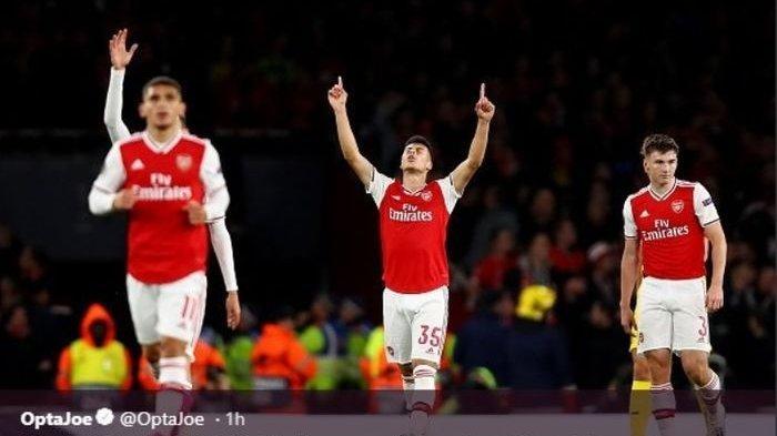 Standard Liege Tak Berkutik di Liga Europa Kontra The Gunners, Tuan Rumah Arsenal Menang 4 Gol
