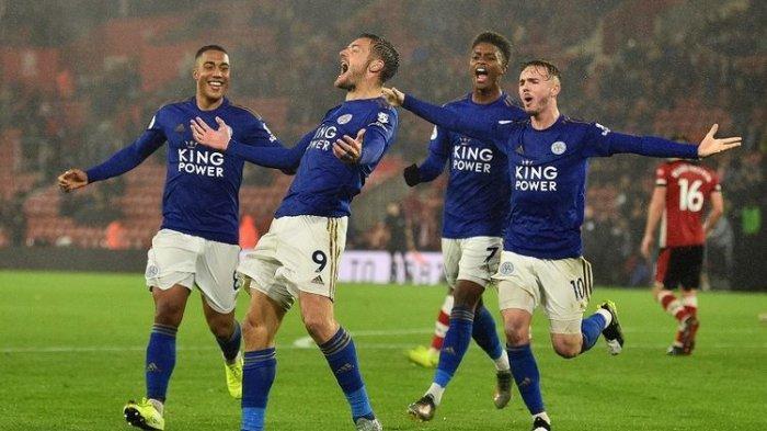 10 Pemain Tuan Rumah Southampton Tak Berdaya Hadapi Leicester City di Liga Inggris Tercatat Skor 0-9