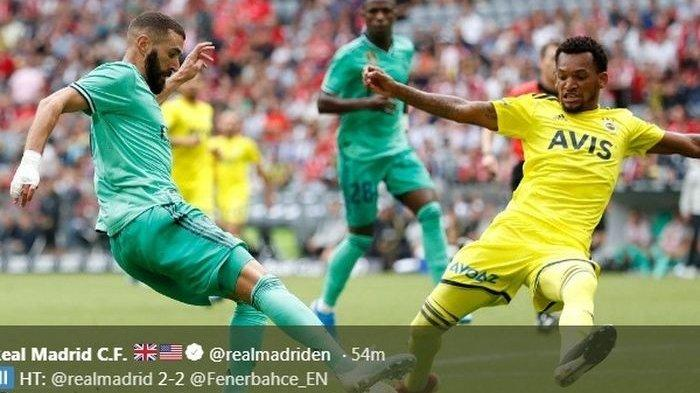 Final Piala Audi 2019 - Real Madrid Akhirnya Menang dan Raih Juara Ketiga Usai Tekuk Fenerbahce