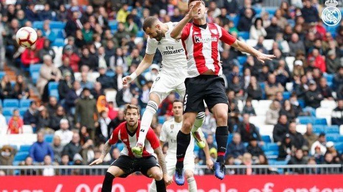 Karim Benzema Borong 3 Gol di Laga Real Madrid Vs Athletic Bilbao Liga Spanyol