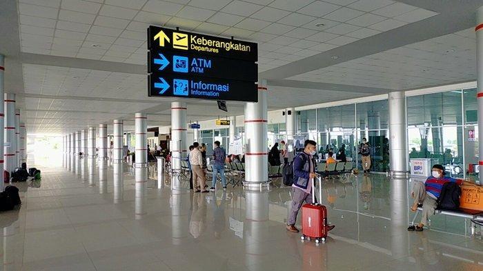 Antisipasi Arus Balik Lebaran di Bandara Tjilik Riwut Palangkaraya, Penjagaan Diperkuat