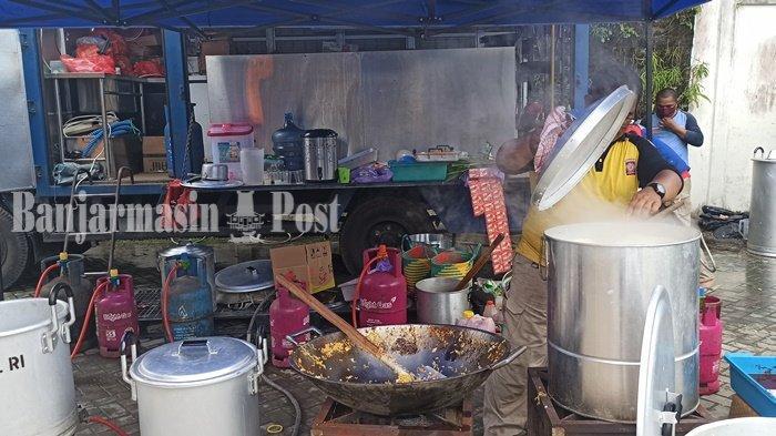 Dinsos Provinsi Kalsel Bangun Dapur Umum, Fokuskan Distribusi Ke Daerah Banjarmasin