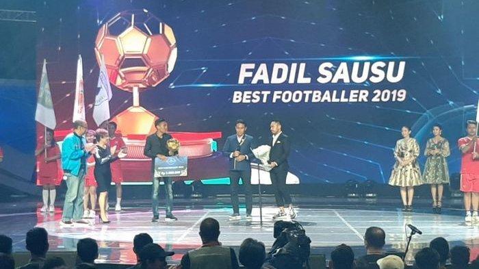 Bali United Borong Penghargaan Indonesian Soccer Awards 2019, Fadil Sausu Jadi Pemain Terbaik