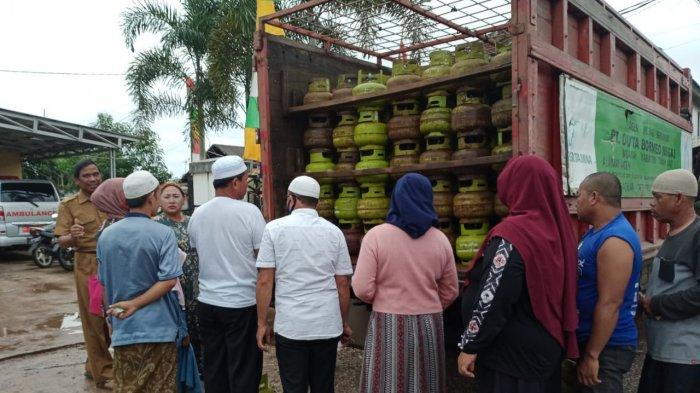 Kelangkaan Elpiji Kalsel, Sebagian Agen Elpiji Melon di Tala Belum Sampaikan Data Penerima