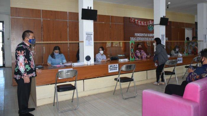 Kantor Disdukcapil Kapuas Buka Pelayanan Seperti Biasa Selama Ramadan, Jam Pelayanan Diatur Begini