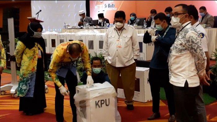 Hasil Pilgub Kalsel Tahun 2020 Makin Dekat, KPU Kalsel Gelar Rapat Pleno Terbuka Rekapitulasi