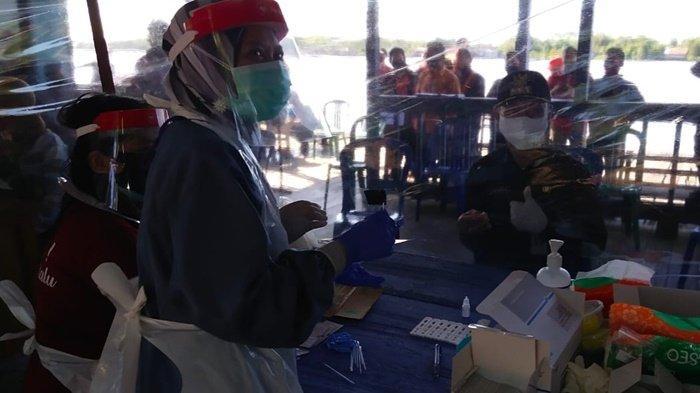 Tiga Orang Reaktif dari Hasil Rapid Test di Kapuas Barat