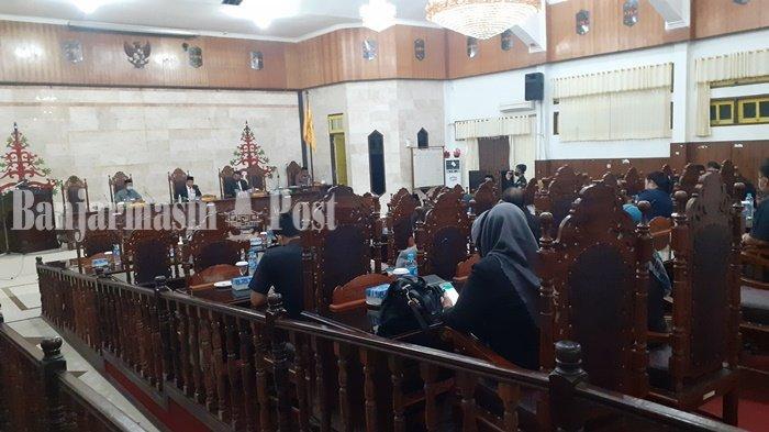 DPRD Kapuas Paripurna Penandatanganan Nota Kesepakatan KUA-PPAS 2021