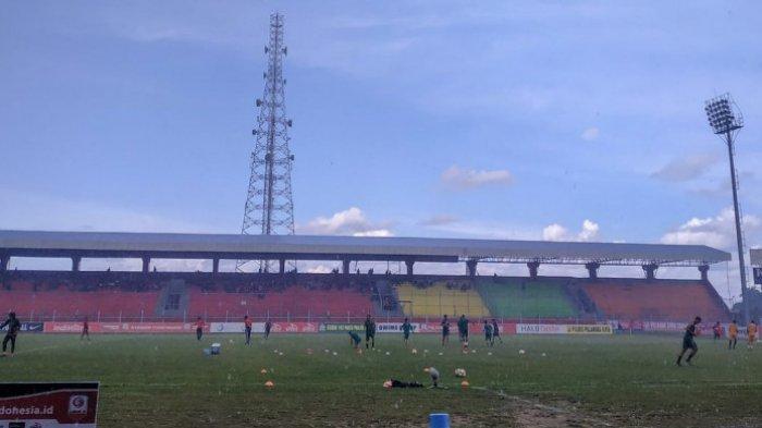 Tuan Rumah Kalteng Putra Hanya Bermain Tanpa Gol Kontra PSS Sleman di Semifinal Liga 2 2018