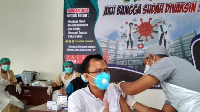 Update Covid-19 Kalsel, Vaksinasi Tahap Pertama Covid-19 di Banjarmasin Sudah Mencapai 48 Persen