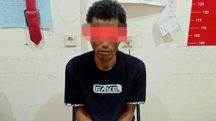 Diduga Edar Sabu di Sampit, Buruh Asal Takisung Kalsel Ditangkap Polisi Kotim, Barbuk 8 Paket Sabu