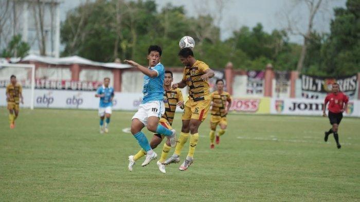 Hasil Liga 2 2021 Grup D, Sulut United Dimenangkan Gol Bunuh Diri, Mitra Kukar Gagal Esekusi Penalti